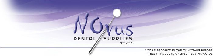 Novus Full Arch Intraoral Dental Mirror for Dental Photography - Novus Logo